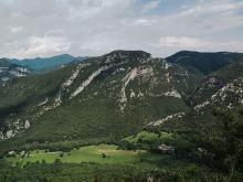 Puig Martinyà, a l'espai natural de l'Alta Garrotxa
